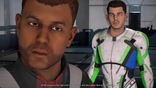 Mass Effect Andromeda Gil all romance scenes with male Ryder including babies