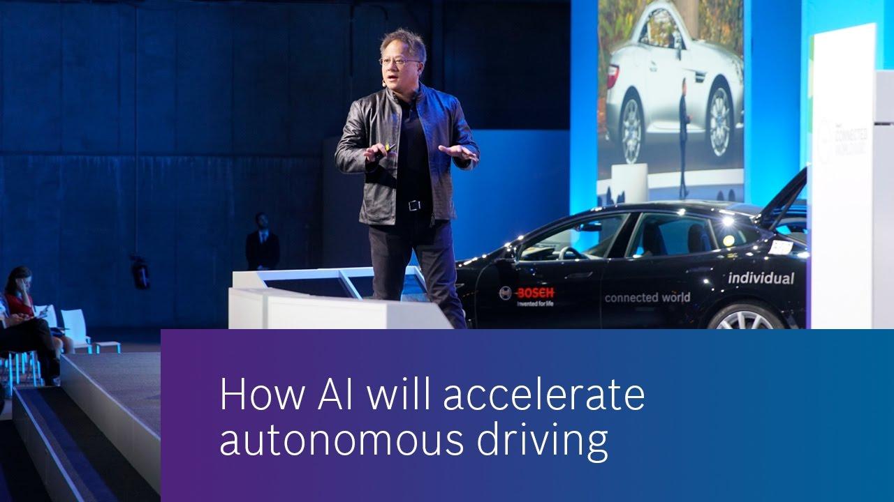 How AI will accelerate autonomous driving
