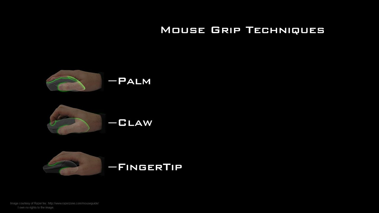 a91ff79b045 Mouse Grip Styles/Techniques - How To Tutorial - YouTube