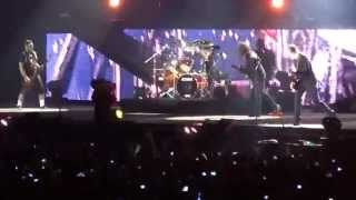 METALLICA by request - Fade to Black Chile 2014