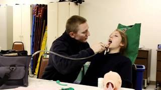 emt and paramedic skill opa npa suctioning