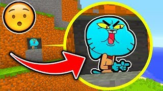 Minecraft : Gumball Turned EVIL!  (Ps3/Xbox360/PS4/XboxOne/WiiU)