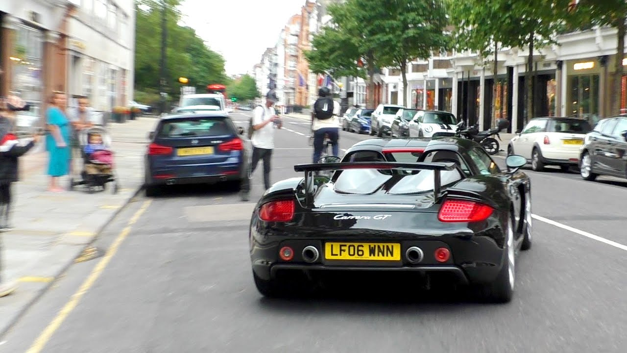 SUPERCARS in LONDON July 2020