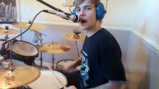 Green Day Warning drum cover