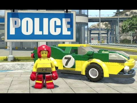 LEGO City Undercover - Cherry Tree Hills 100% Guide (All Collectibles)