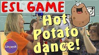Linguish ESL Games // Hot Potato Dance // LT140