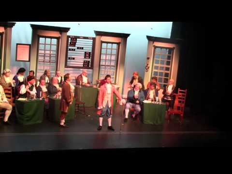 Molasses to Rum from 1776 sung  James Myers as Edward Rutledge
