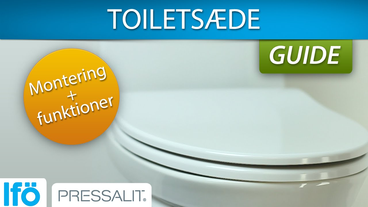 toiletsæde ifø Toiletsæde   montering og smarte funktioner   YouTube toiletsæde ifø