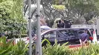 Trump-Kim Summit: Kim Jong Un's motorcade leaves Changi