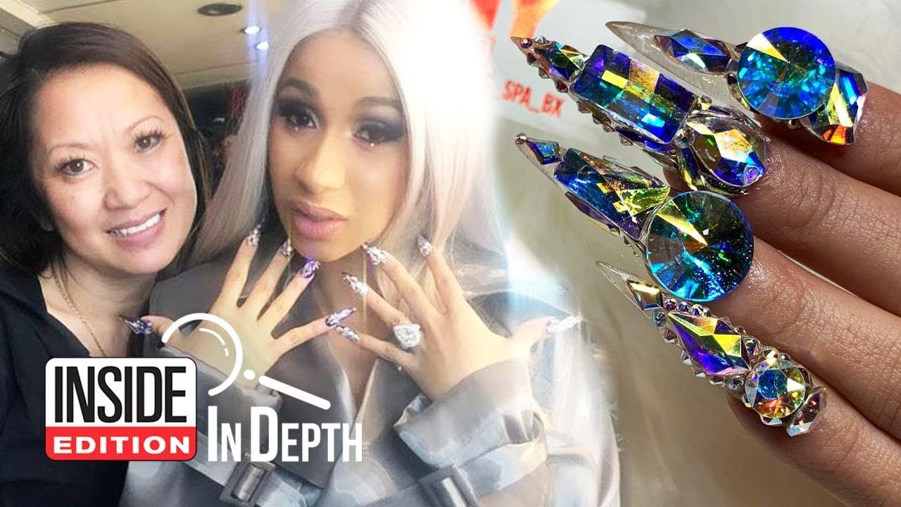 Cardi B Queen: Who Does Cardi B's Blinged-Out Manicures?
