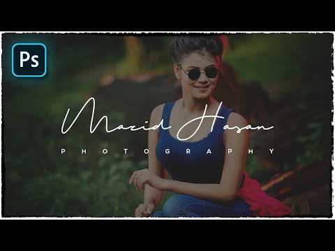 How to make a watermark logo for photos