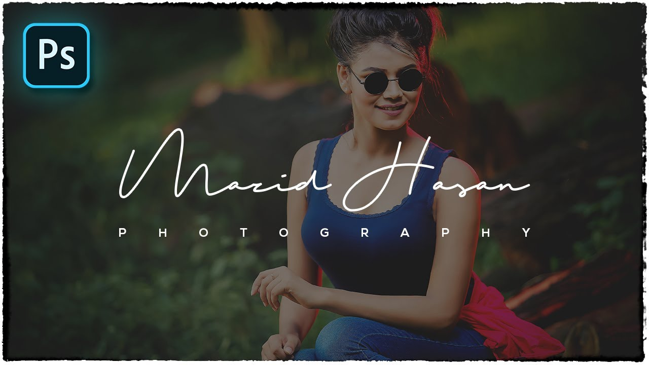 How To Create Own Signature Logo For Photography Youtube