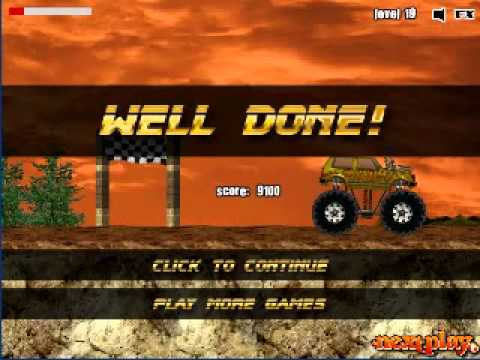 Monster Truck Demolisher level3 [challenges the high score ].wmv from YouTube · Duration:  1 minutes 8 seconds