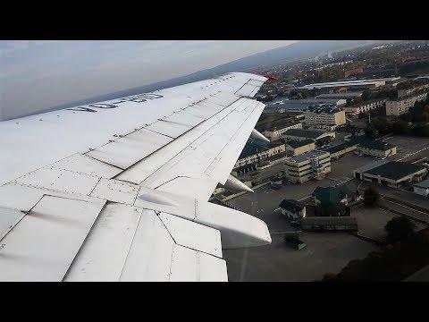 Взлет из Нальчика Boeing 737-400 Utair
