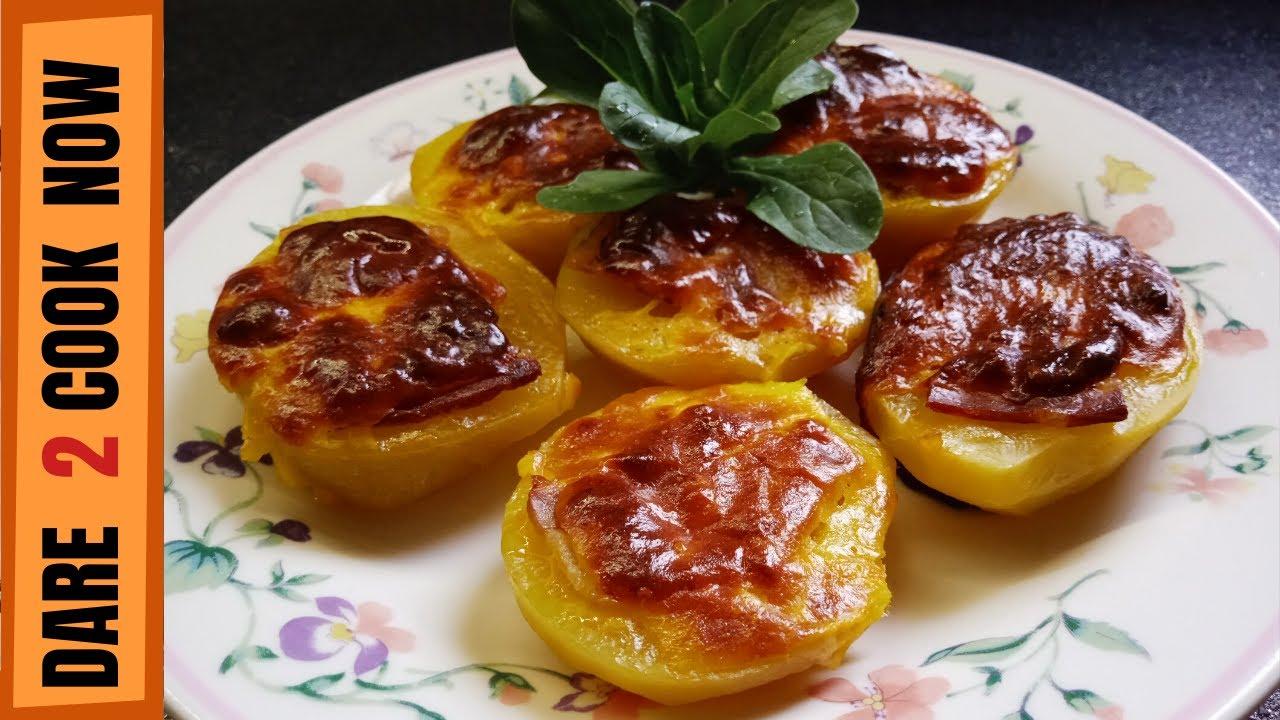 Download KROMPIR SA SLANINOM I SIROM IZ RERNE || Ukusan krompir kao predlog za savršen obrok