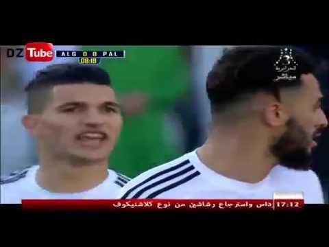 مباراة الجزائر 0 1 فلسطين كاملة Match Palestine 1 0 Algerie 17/02/2016