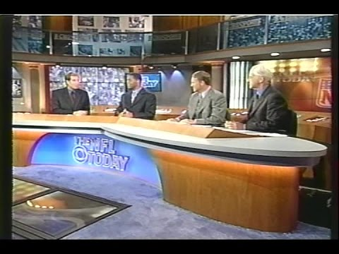 NFL on CBS - 1998 Week 1 The NFL Today 4pm Intermission Show