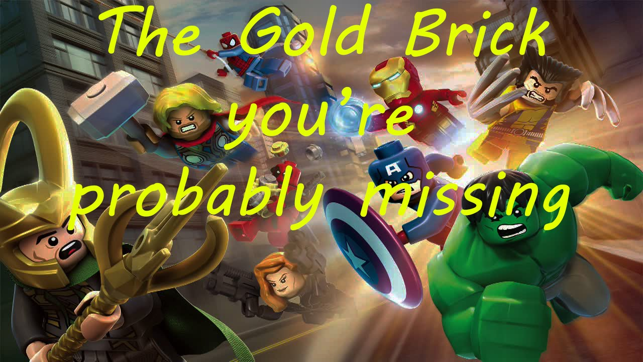 marvel lego 200 gold bricks