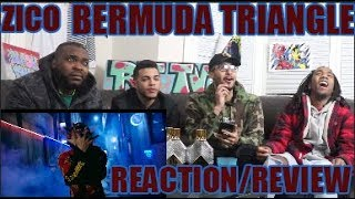 지코 (ZICO) - BERMUDA TRIANGLE (FEAT. CRUSH, DEAN) (ENG SUB) MV REACTION/REVIEW