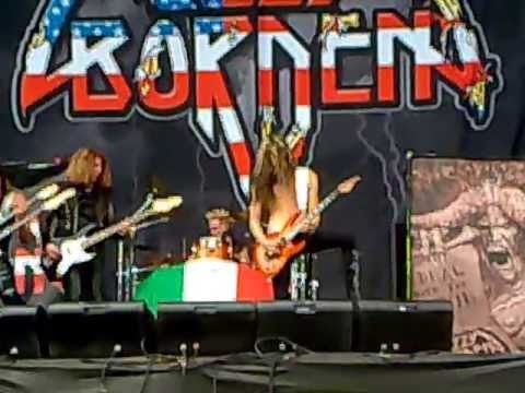Lizzy Borden - there will be blood tonight - Live gods of metal milano 2012
