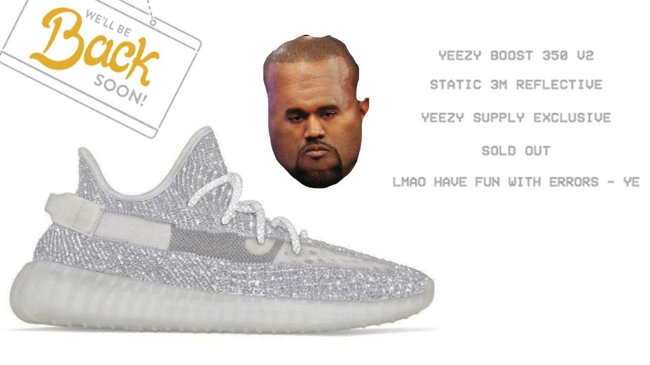 89374b5ed The Yeezy 350 REFLECTIVE 3M Static Drop in a nutshell - YouTube