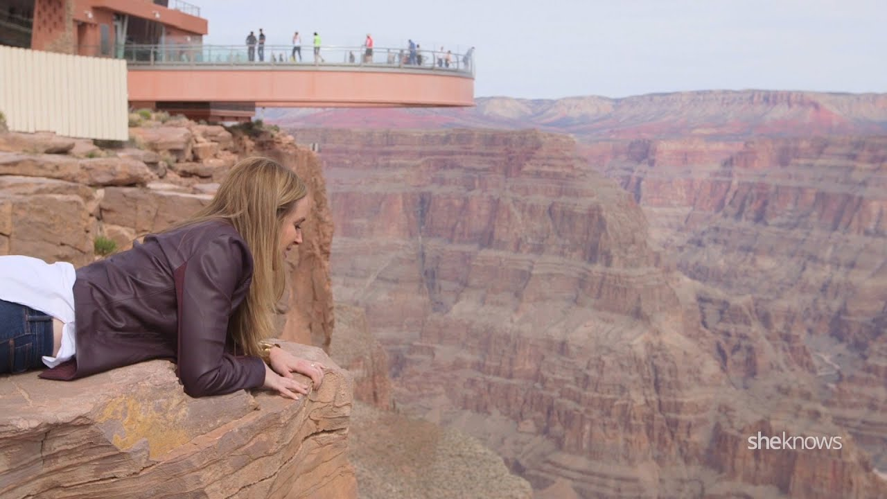 I Ll Try It Skywalk At The Grand Canyon
