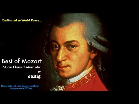6-Hour Mozart Piano Classical Music Studying Playlist Mix by JaBig: Great Beautiful Long Pieces