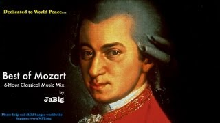 6-Hour Mozart Piano Classical Music Studying Playlist Mix by JaBig: Great Beautiful Long Pieces(Like JaBig on Facebook: http://www.facebook.com/JaBig - Follow JaBig on Instagram: http://instagram.com/JaBig (@JaBig) 6-Hour Mozart Piano Classical Music ..., 2013-05-15T17:04:09.000Z)