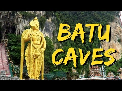 Batu Caves tour and Indian food in Malaysia