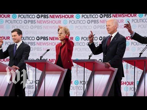 2020 Democratic debate: Smaller stage, bigger clashes