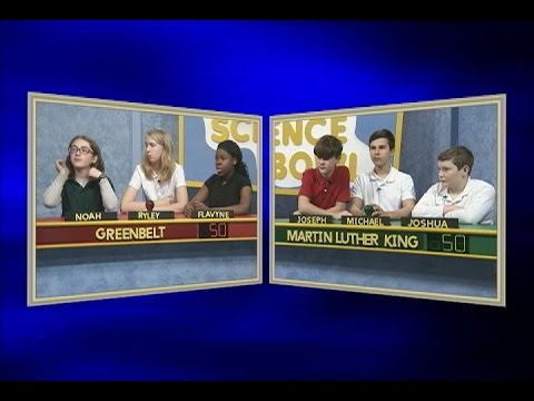 Science Bowl 2016-17: Greenbelt vs MLK