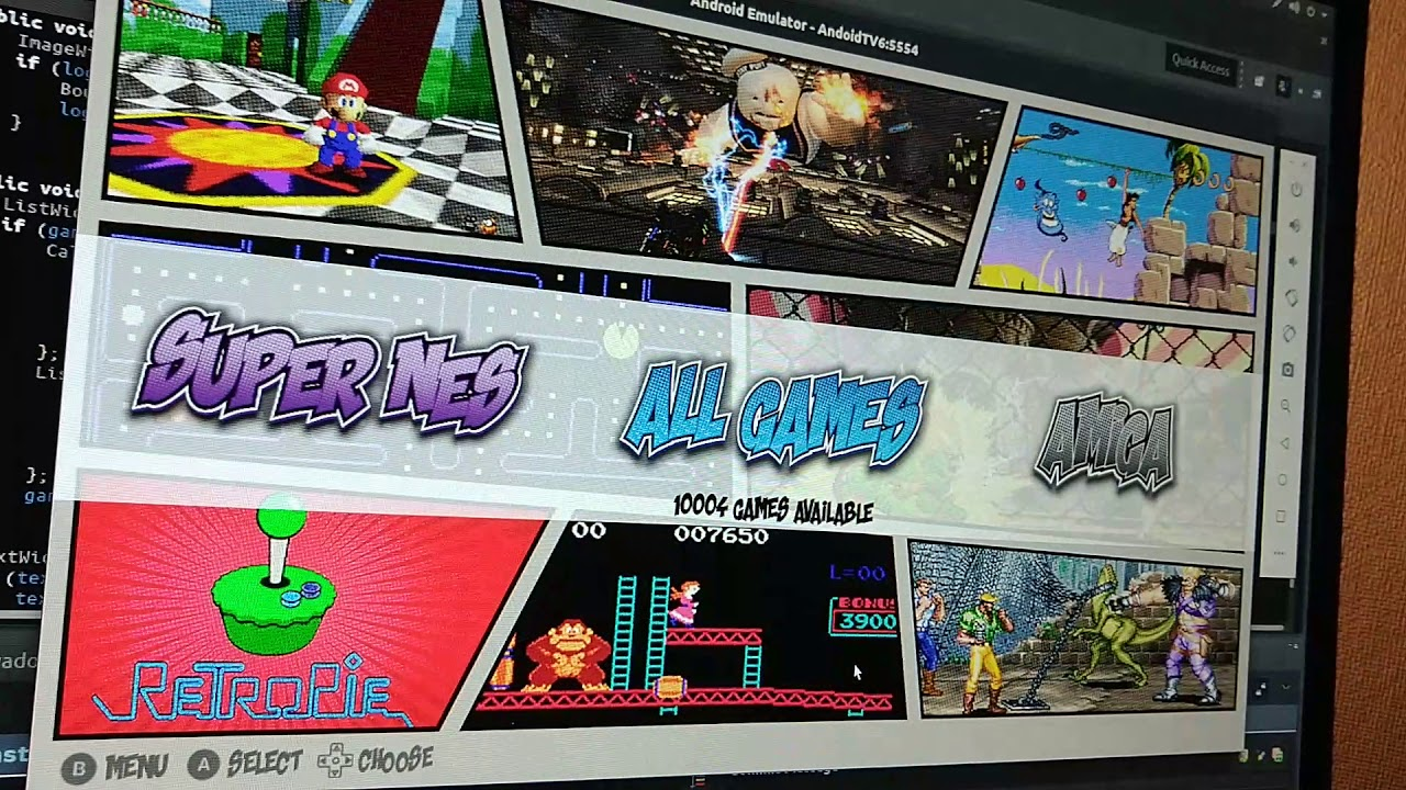 RetroX theme engine demo (ComicBook)