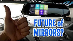 UNBOXING & REVIEW - SMART REARVIEW CAR MIRROR - Future In-Mirror Video Dash Cam!