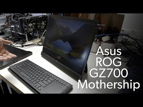 download Asus ROG GZ700 Mothership: Microsoft Surface Pro with guts!