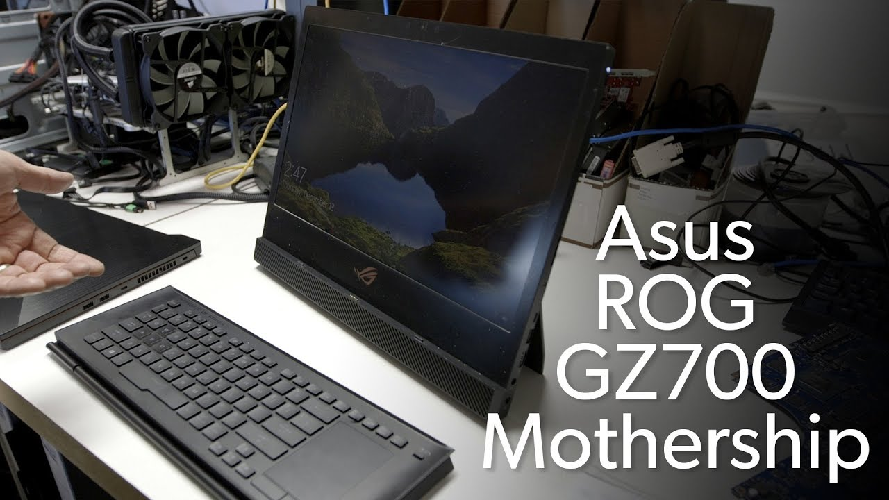 4f7ec4c75b5 Asus ROG GZ700 Mothership: Microsoft Surface Pro with guts! - YouTube