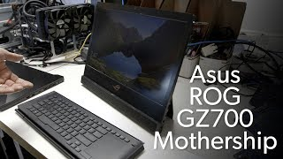 Asus ROG GZ700 Mothership: Microsoft Surface Pro with guts!