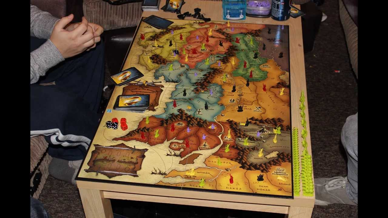 Lord Of Rings Risk Board