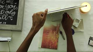 NEW! Arts & Crafts | How To Decorate A Picture Frame