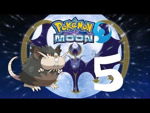 Pokémon Moon 5- ILIAMA AND ROUTE 3!