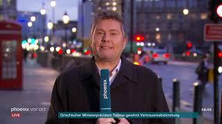 Andreas Stamm aus London zum Misstrauensvotum gegen Theresa May am 17.01.19