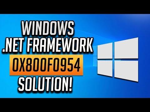 Fix  Net Framework 3 5 Error 0x800F0954 In Windows 10/8/7
