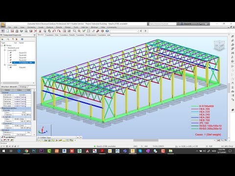 Robot Structural 2021   Designing and Analysis of Steel & RCC Structures (Part 3-3)