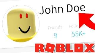 Do NOT Add JOHN DOE Account as a Friend in Roblox!!!