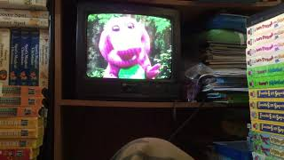 Barney Home Video Barney's Magical Musical Adventure 1993 VHS