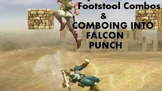 Captain Falcon Footstool Combos + Comboing Into Falcon Punch (super Smash Bros. For Wii U)