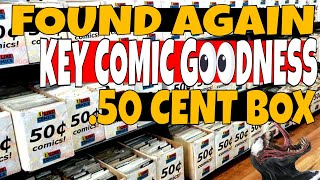 We love COMICS And it doesn't matter how much they cost WEEK 11 Comic book haul for .50cents
