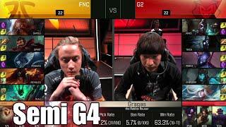 g2 esports vs fnatic   game 4 semi finals s6 eu lcs spring 2016 playoffs   g2 vs fnc g4 1080p