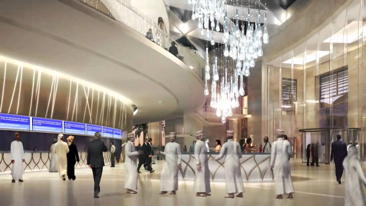 Oman convention and exhibition centre youtube for International interior design exhibition