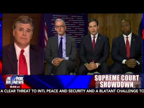 Marco Joins Sean Hannity With Tim Scott And Trey Gowdy | Marco Rubio for President
