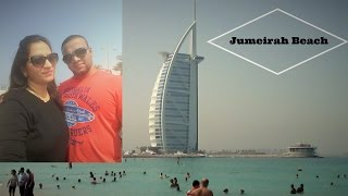 A relaxing day out in Dubai at Jumeirah beach | 2016